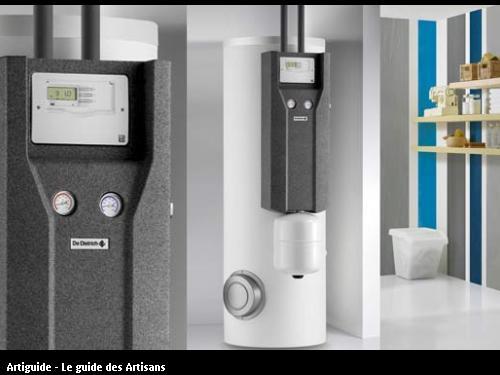 Ecs entreprise chauffage sanitaire plombier reze - Chauffe eau solaire de dietrich ...